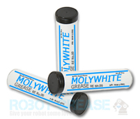 Molywhite Grease 14 oz Cartridges Tubes